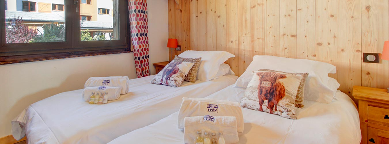 Image of Chalet Poppy - Ground floor bedroom