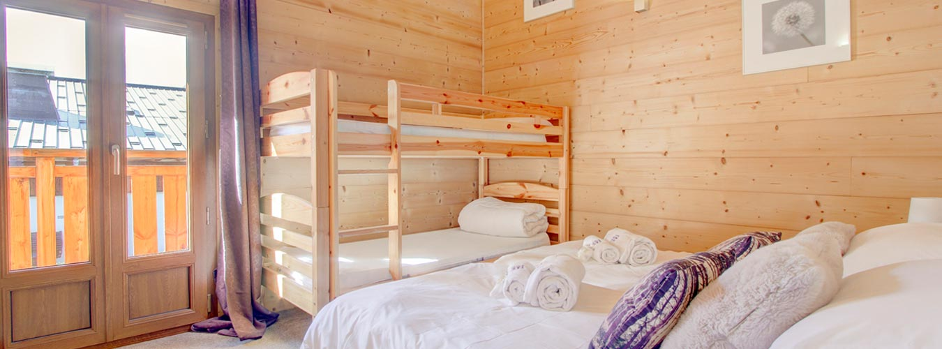 Image of Chalet Poppy - Bunks, first floor