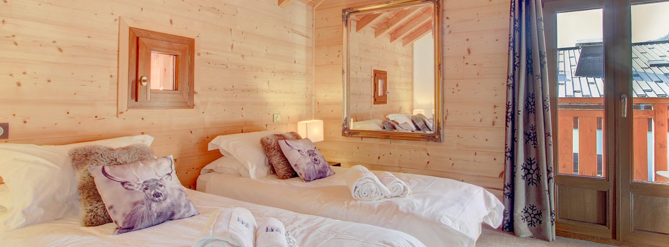 Image of Chalet Poppy - First floor bedroom