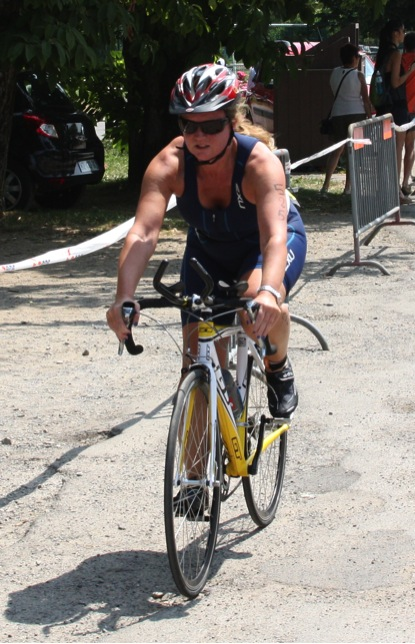 Triathlon Cycling event