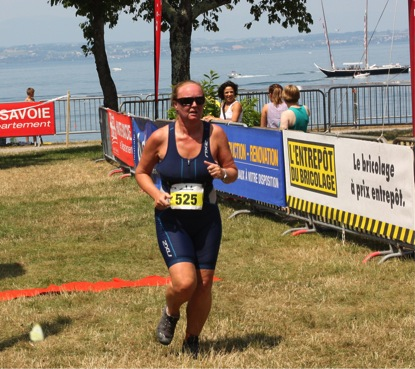 Triathlon Running event